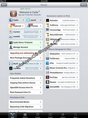 Jailbreak iPad 4