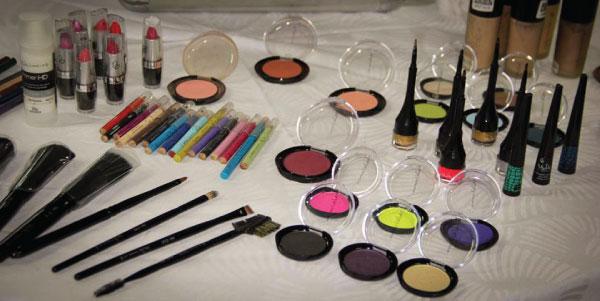 workshop de maquiagem em Belo Horizonte - produtos Vult e Lojas Rede