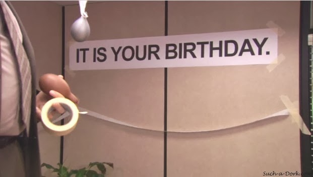 The Office-isms: IT IS OUR BIRTHDAY.