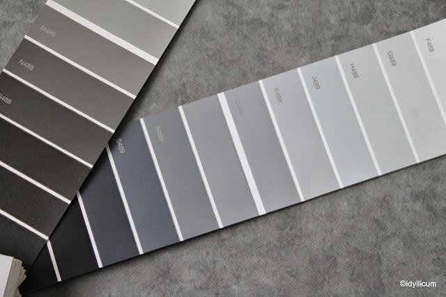 idyllicum sisustussuunnittelu, värin valinta