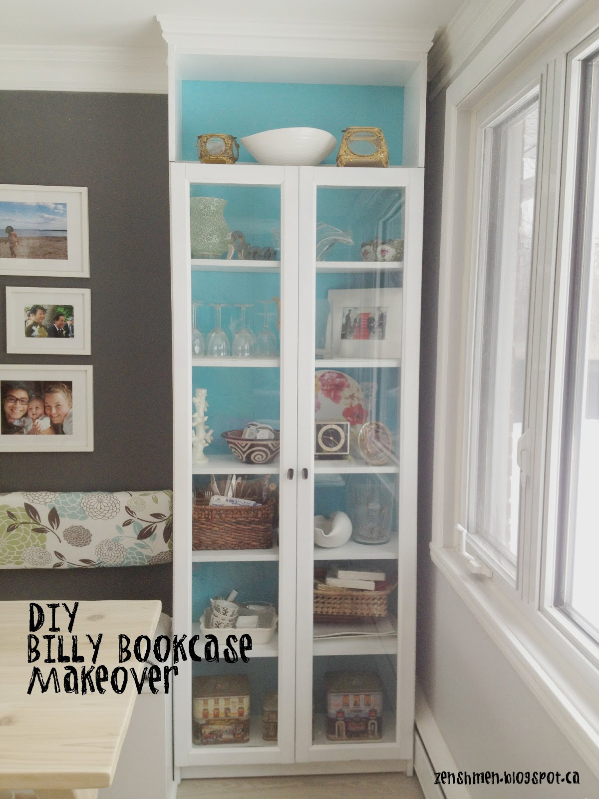 Zen Shmen DIY Billy Bookcase Makeover - Diy billy bookcase