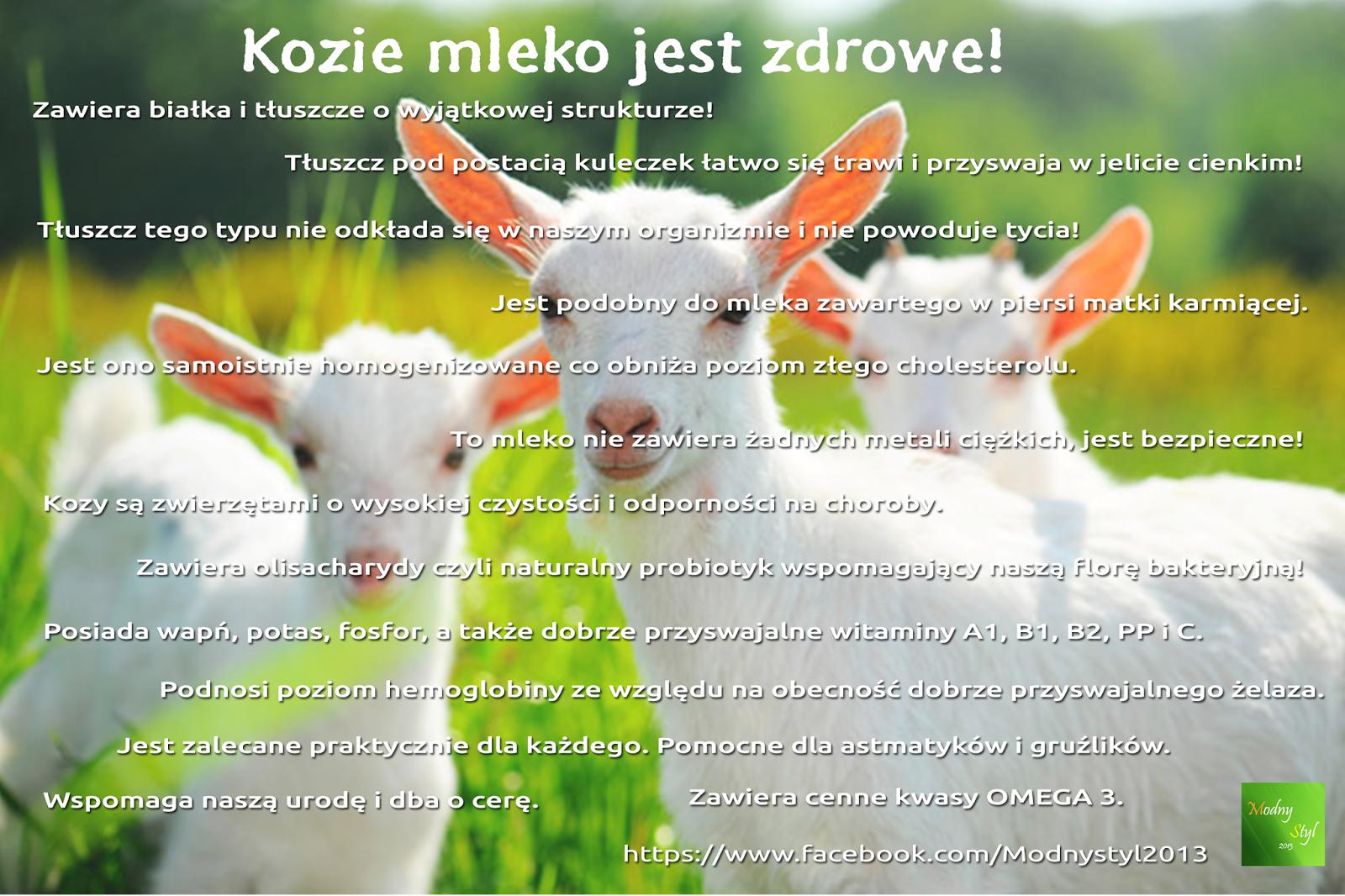 Dlaczego kozie mleko jest dobre?