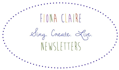 Fiona Claire Newsletters