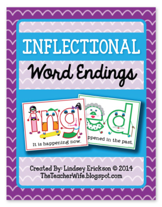 ... +Word+Endings the teacher wife: Inflectional Word Endings (-ed, -ing