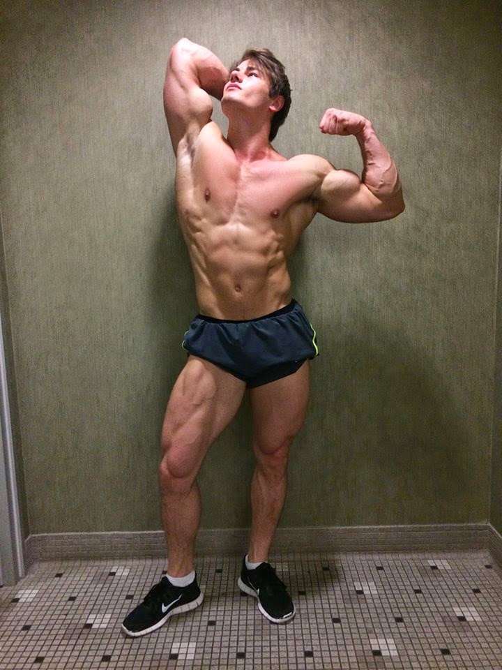 Jeff Seid fitness model 2014