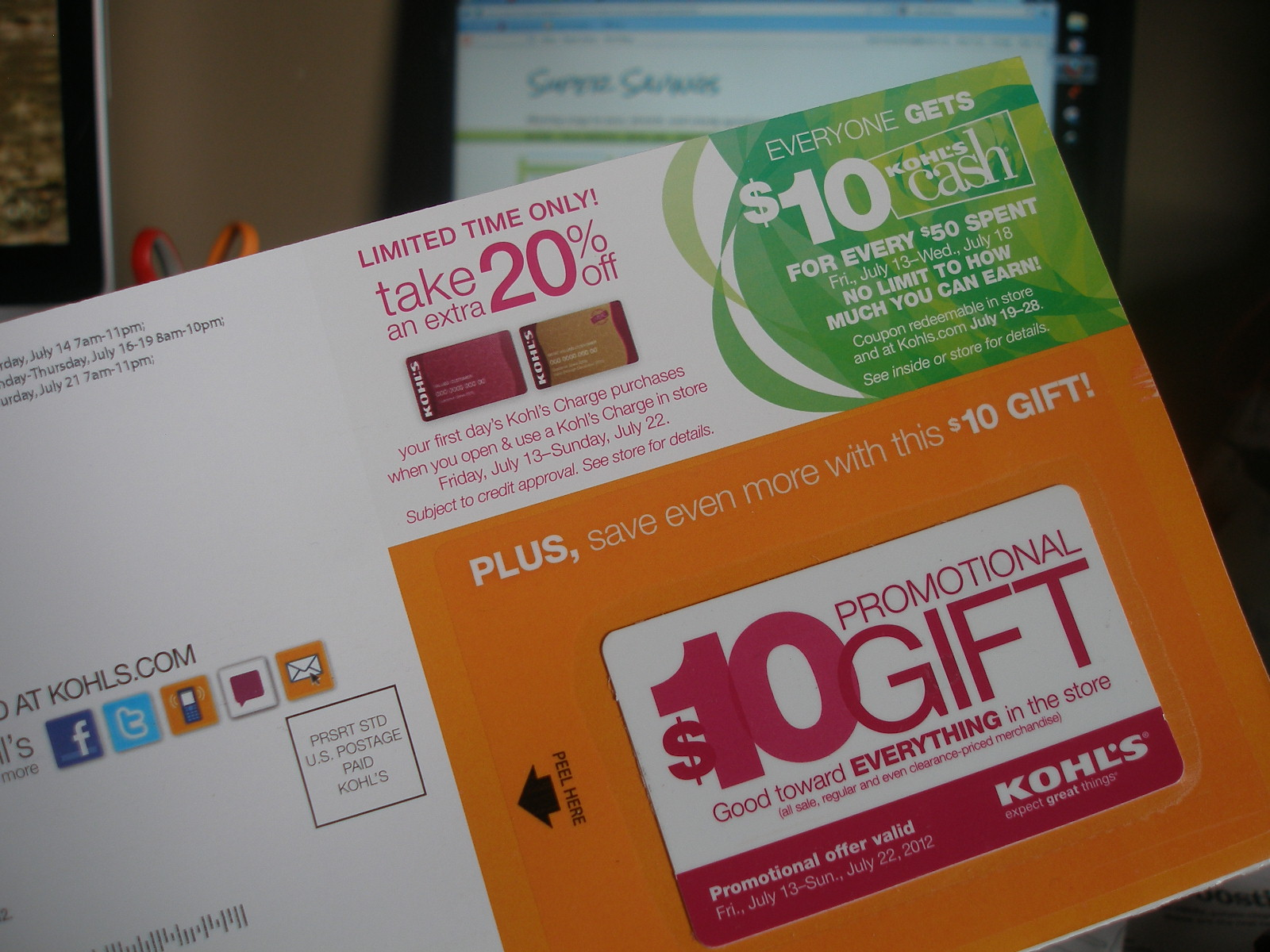 Kohl s 10 off 10 coupon expired no problem and a wrap up with a 96 savings