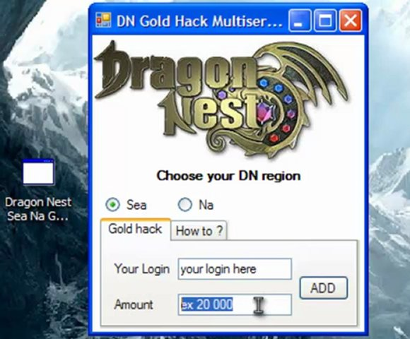 dragon nest gold hack generator free download