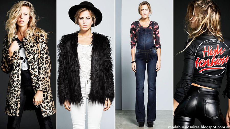 Moda invierno 2015: Tabatha Jeans otoño invierno 2015.