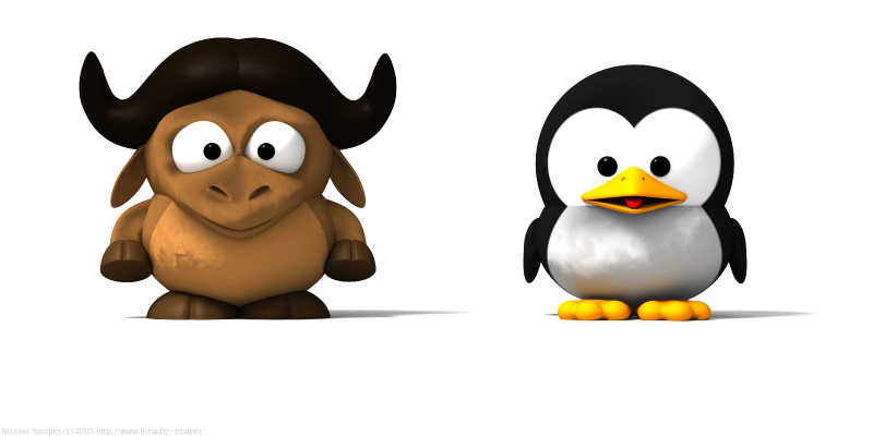 gnu tux serial valido ubuntu