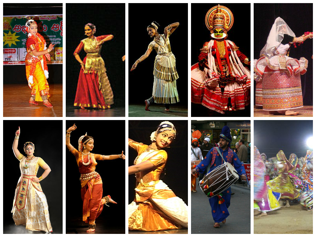 Dances of India.