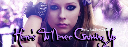 Avril Lavigne - Here's To Never Growing Up Lyrics