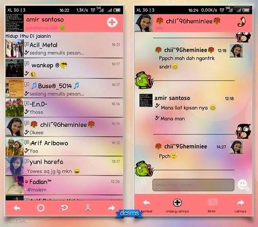 BBM MOD Love Story V2.5.0.36