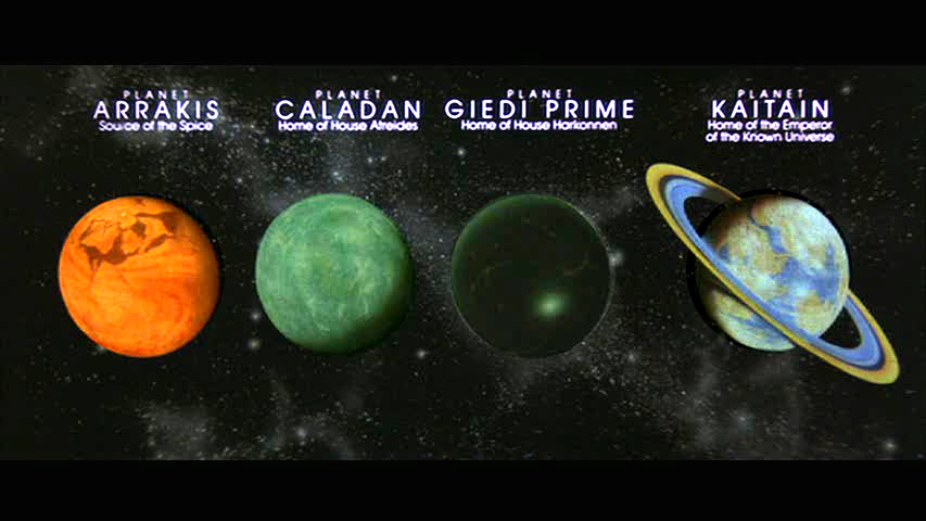 planets in the movie dune - photo #1