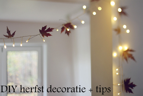 Diy Slaapkamer Decoratie : Lovely time with nicky diy herfst decoratie tips voor je kamer