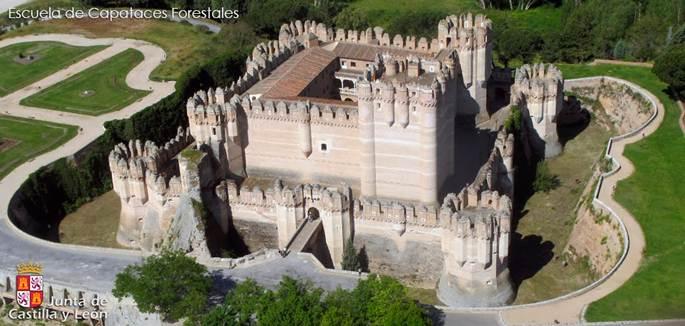 castelul castillo de coca