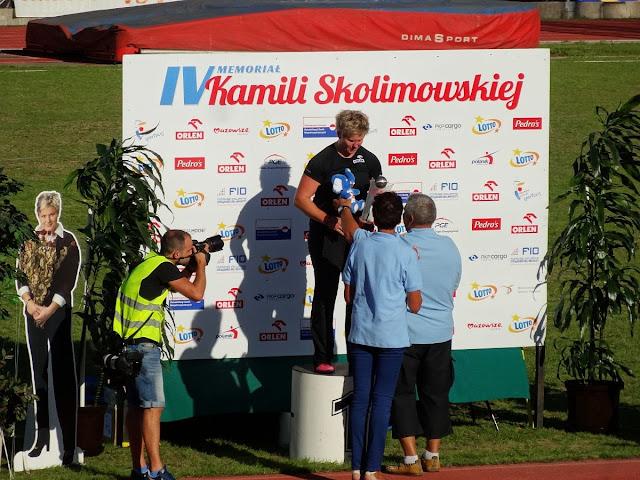 IV Memoriał Kamili Skolimowskiej na stadionie Orła w Warszawie.