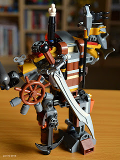 lego: metalbeard's duel - the sword and the wheel