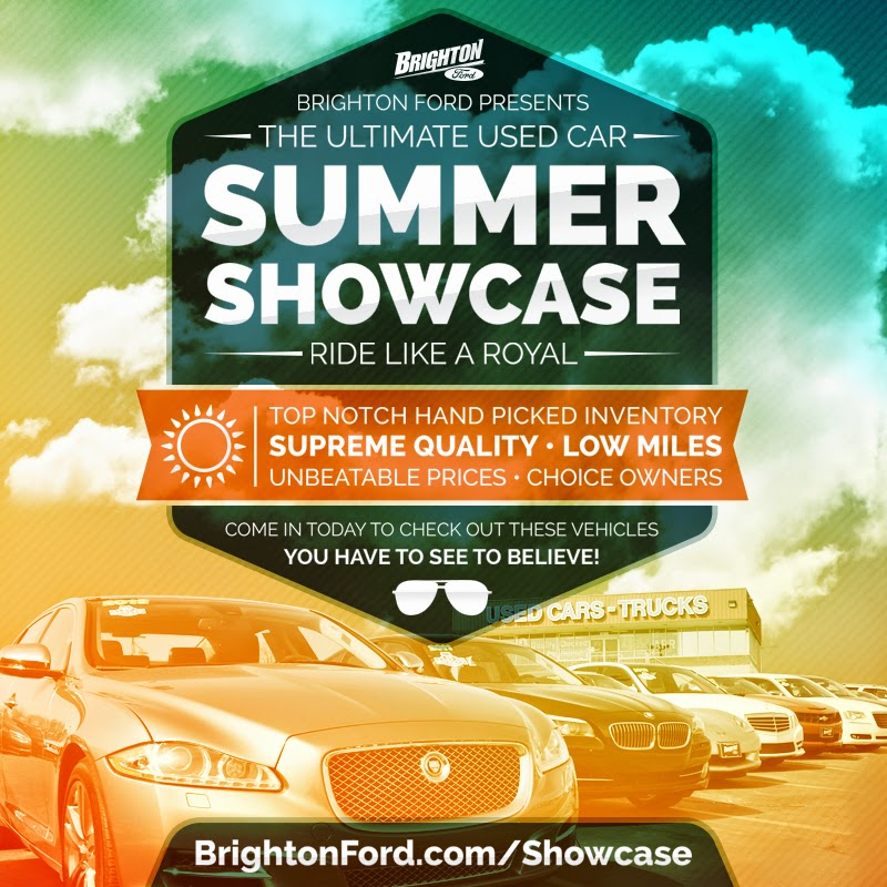 The Summer Showcase at Brighton Ford!
