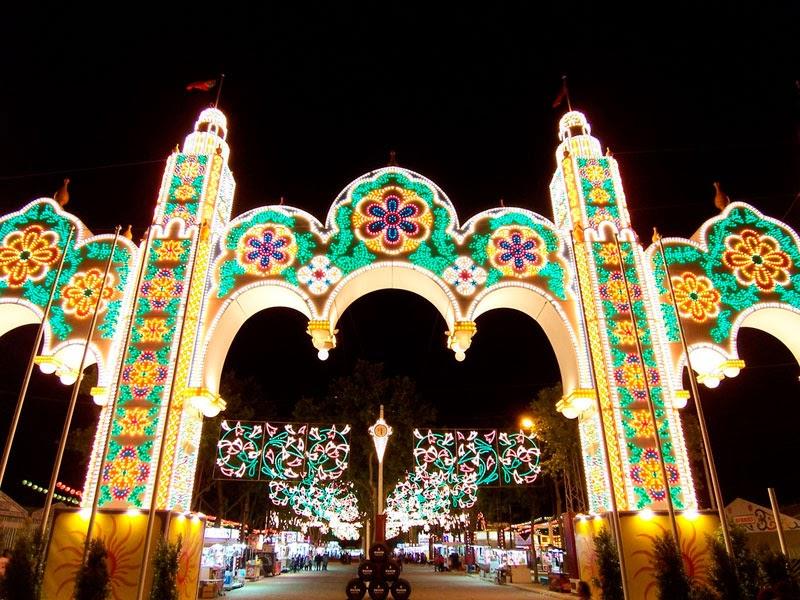 Portada de la Feria de El Puerto de Santa María