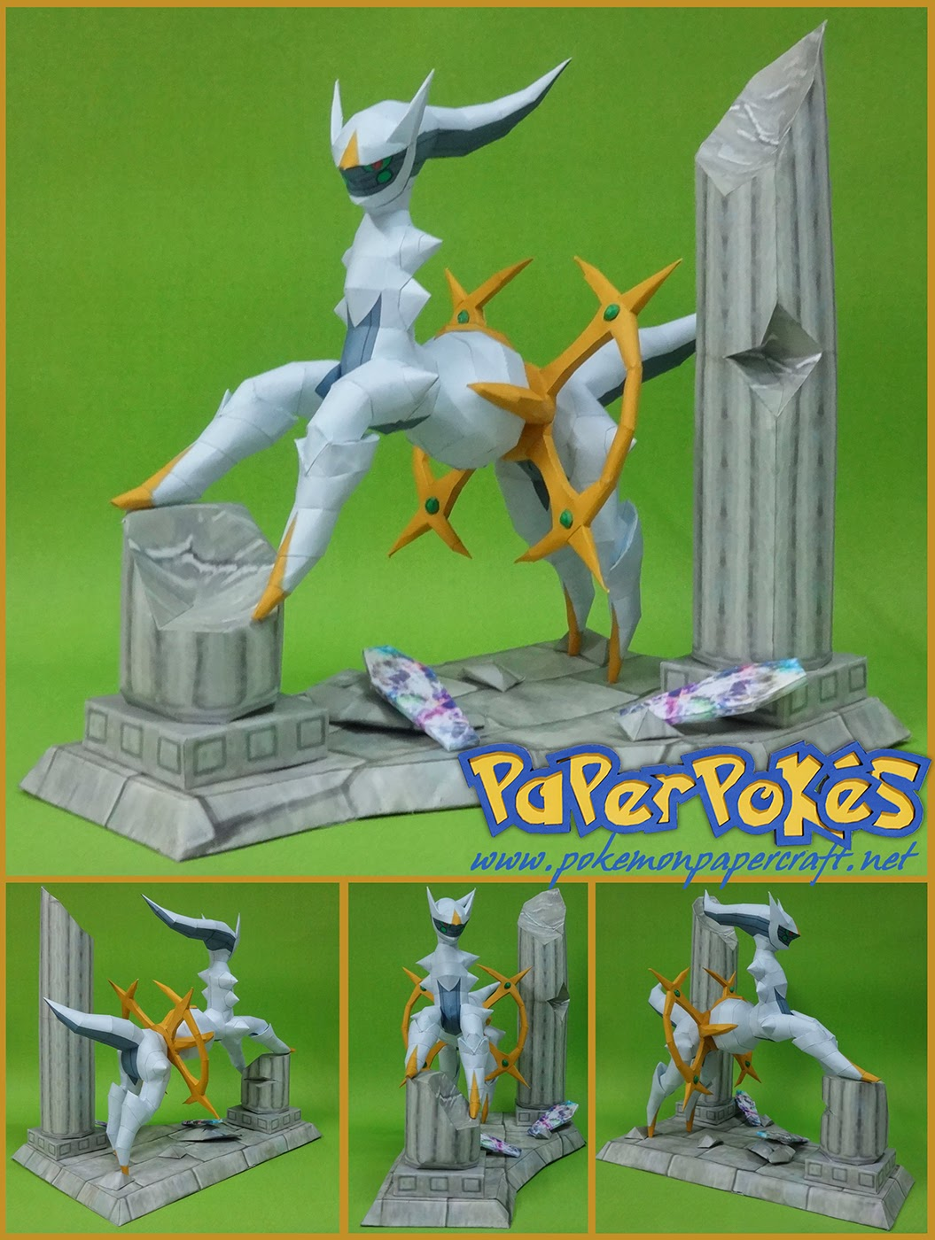 Pokemon Arceus Paper Model