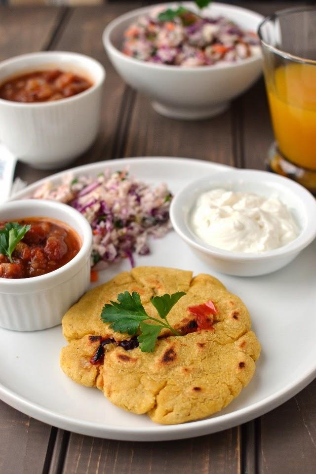 Vegetarian Pupusa