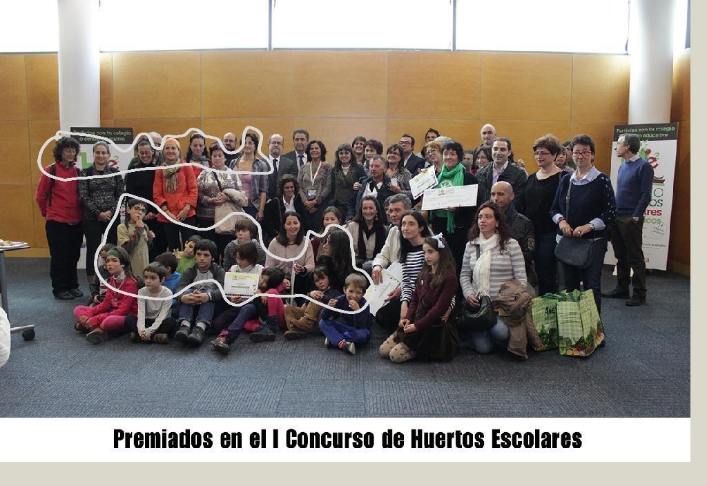 CONCURSO HUERTOS ESCOLARES 2014
