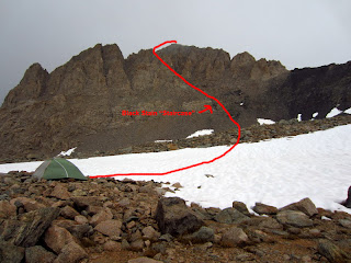 West Face Route on Mt. Williamson