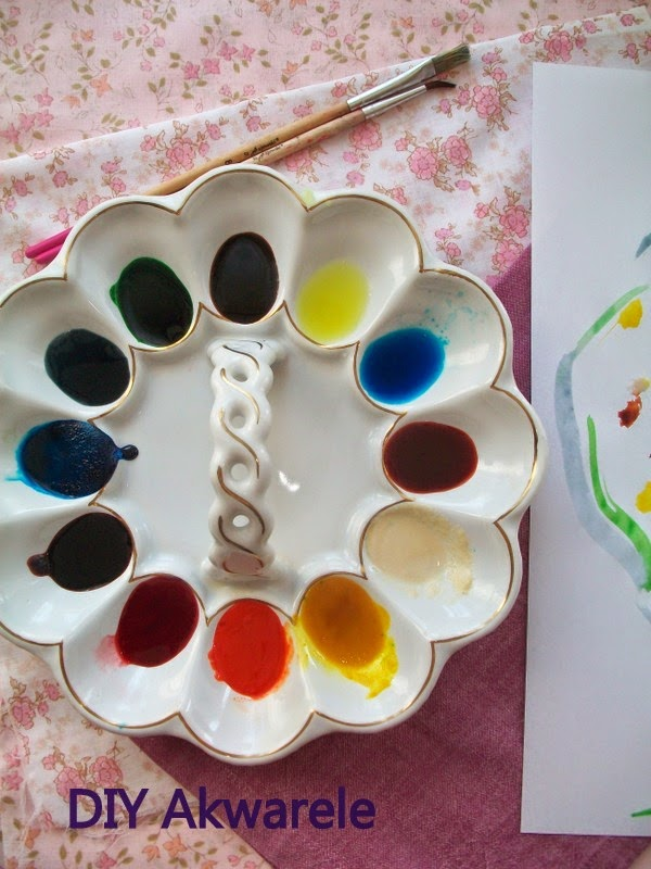 Farby ręcznie robione