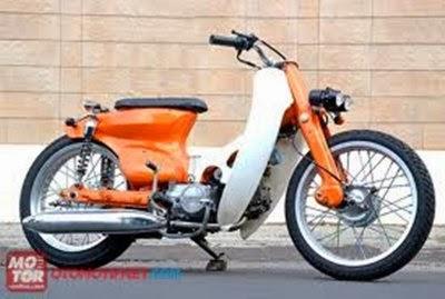 Modifikasi Bebek Honda 70
