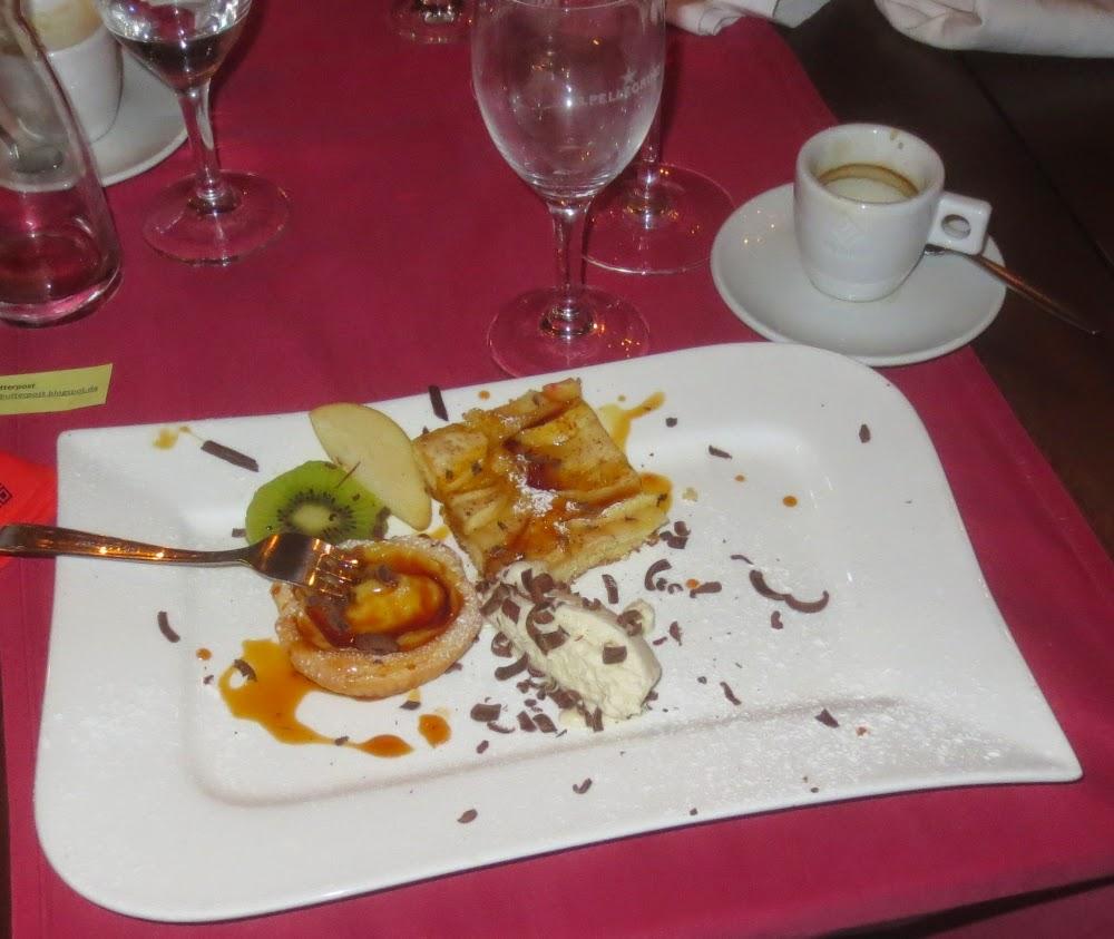 Genussbloggertreffen 2014 - Dessert im Il Castello