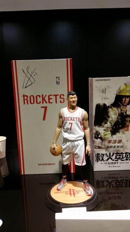 [Enterbay] NBA Series: Jeremy Lin (Houston Rockets) A1