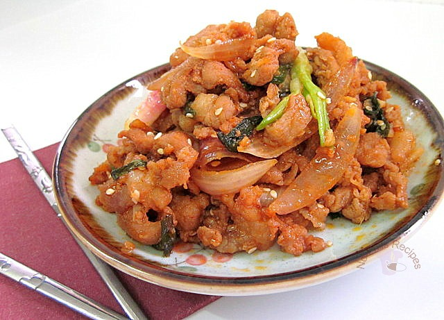 ... ... cooking, baking & excerpts on travel: Korean Spicy Pork Bulgogi