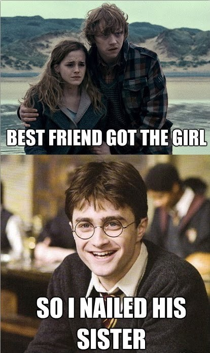 Harry Potter - Best Friend Got The Girl, So I Nailed Her Sister