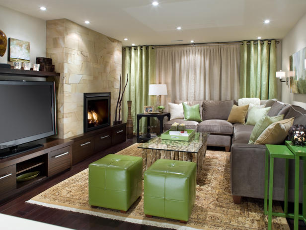 Modern furniture basements decorating ideas 2012 by candice olson - Basements designs ...