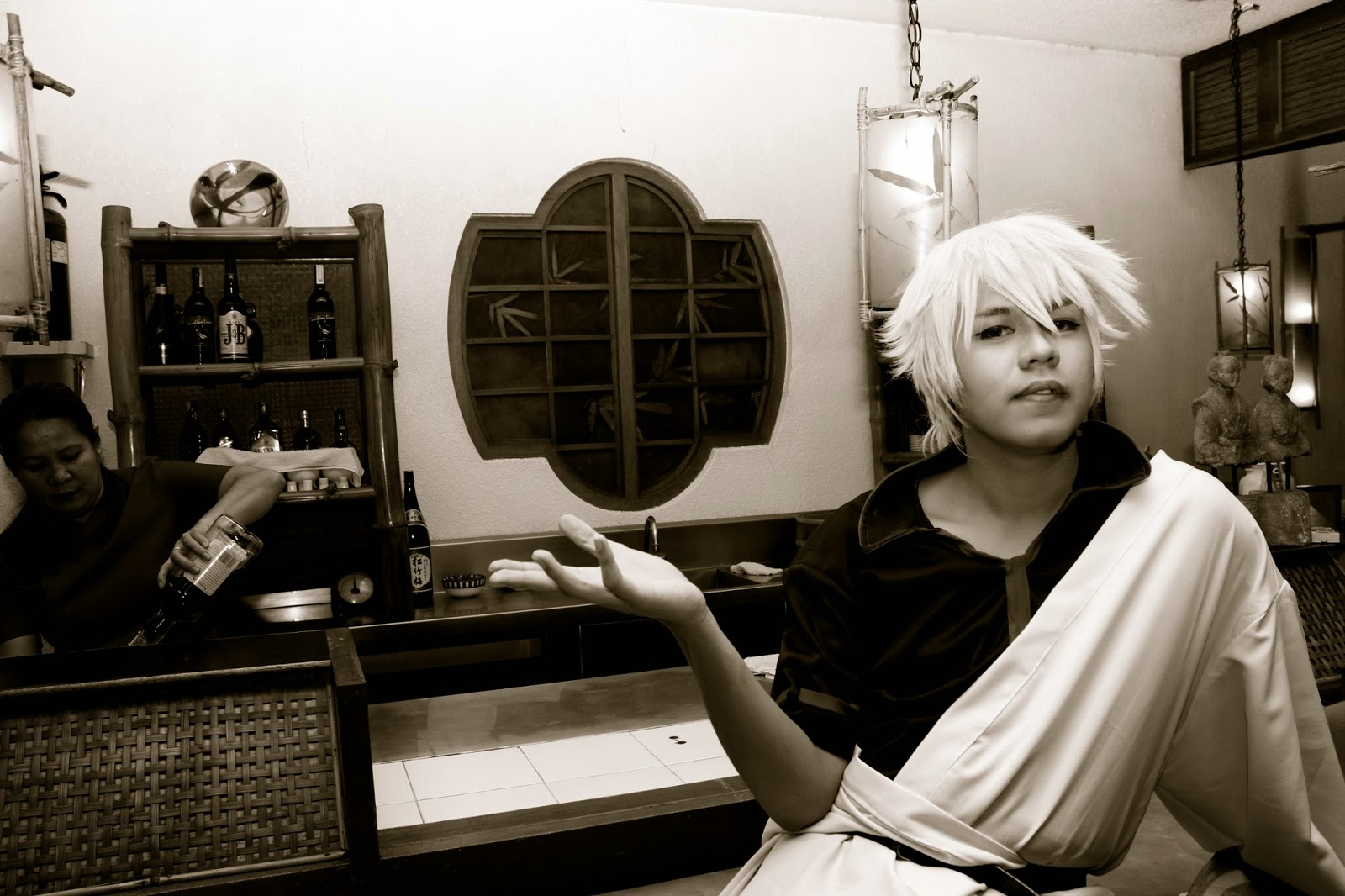 Stein Vivero as Gin from Gintama