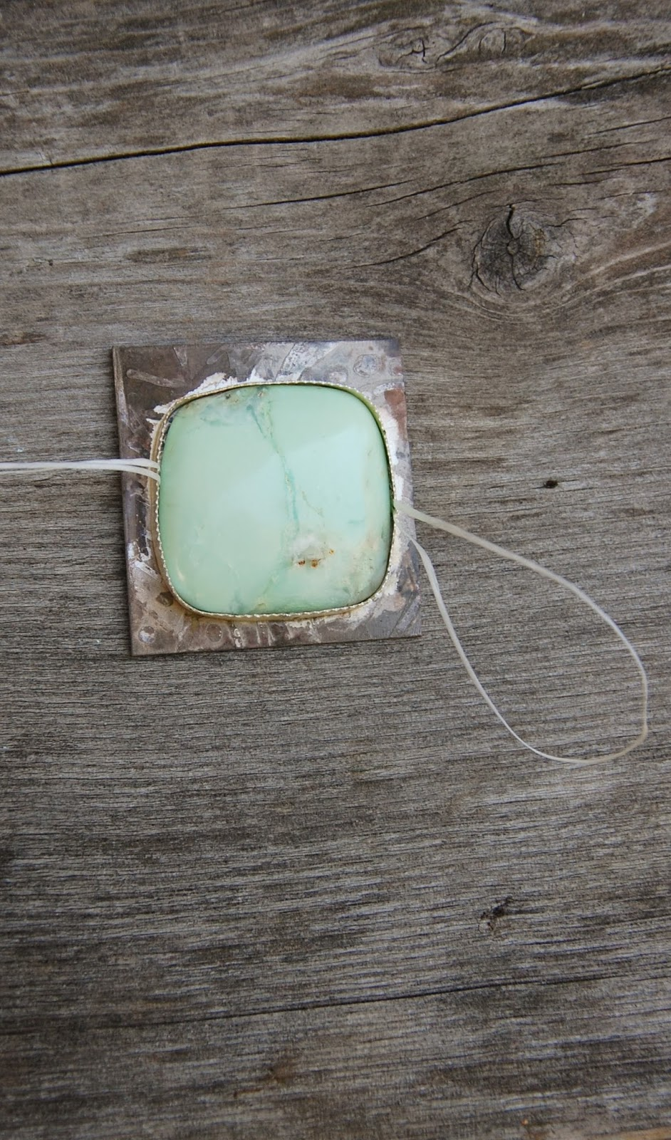 how to make a wax bezel for a stone