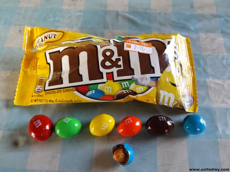 M&M's Chocolate Candies 40g