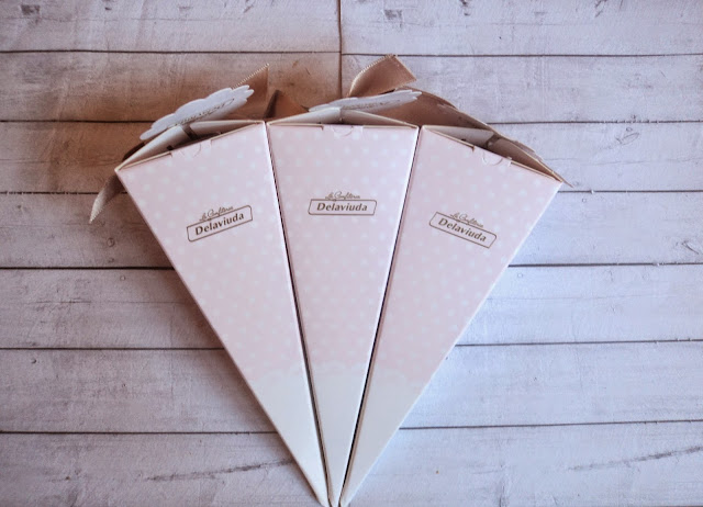 Regala a tus invitados las cajitas personalizadas de Confiteria Delaviuda