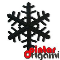 Origami Kristal Salju 1