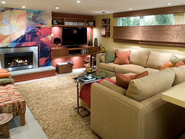 Basements Decorating Ideas 2012