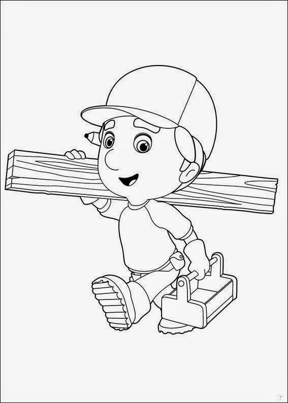Dibujos para colorear. Maestra de Infantil y Primaria.: Manny a la ...