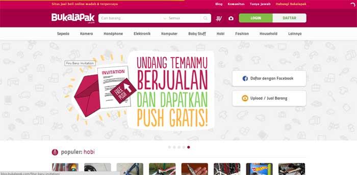 Situs Jual Beli Online Bukalapak
