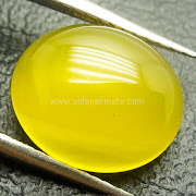 Batu Permata Yellow Calchedony - SP749
