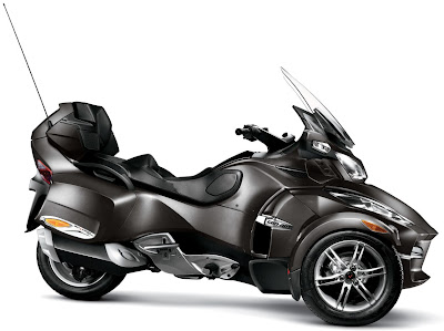 2011 Can-Am Spyder RT-S pure magnesium metallic