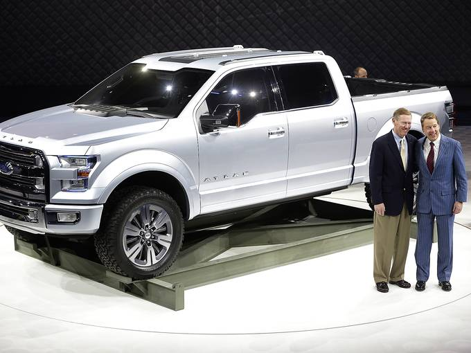 sheehy ford of warrenton ford drops a new f 150 on detroit. Cars Review. Best American Auto & Cars Review