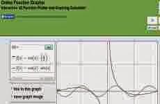 Online Function Grapher: web para graficar funciones matemáticas online