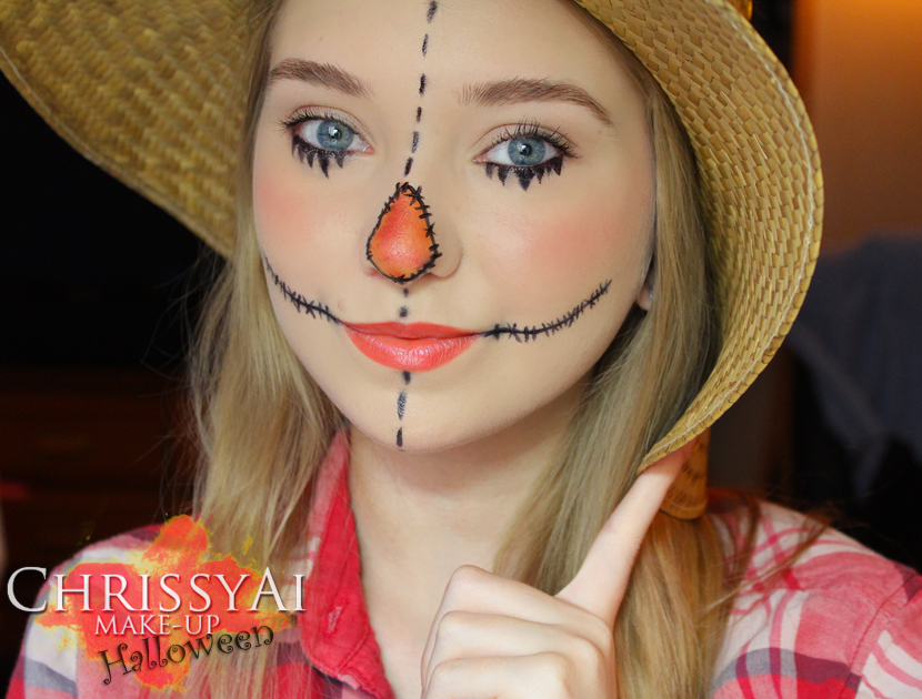 ChrissyAi: Scarecrow Make-Up