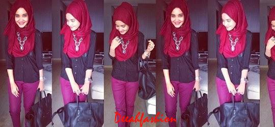 Trend Baju Muslim Kantor 2014 BoldChic