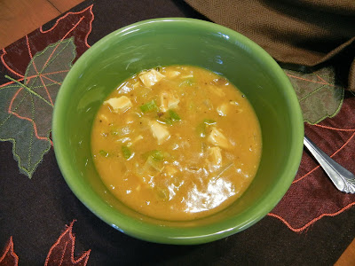 Eggface+Trader+Joes+Quick+Pumpkin+Chicken+Stew+Totally+Thanksgiving Weight Loss Recipes Happy Fall! Trader Joes Pumpkin Soup