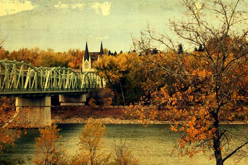 finaly bridge medicine hat alberta photography